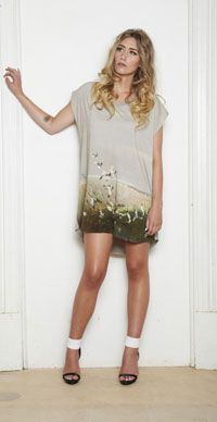 """Sheryl May's SS13/14 collection """"Breathe"""" inspired by New Zealand's coastal beauty."""