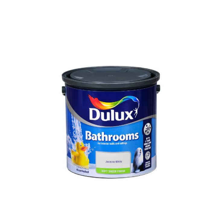 B&q bathroom paint dulux