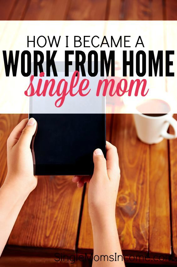 Do you want to become a work from home mom? Here's my story of how I made that happen. It wasn't easy but if I can do it so can you! http://singlemomsincome.com/became-work-home-single-mom/