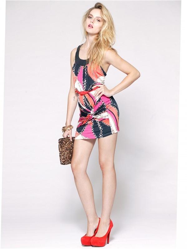Venechia Mini Skirt by Signature T at AlibiOnline