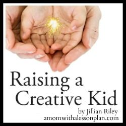 Raising a Creative Kid + activities for kids