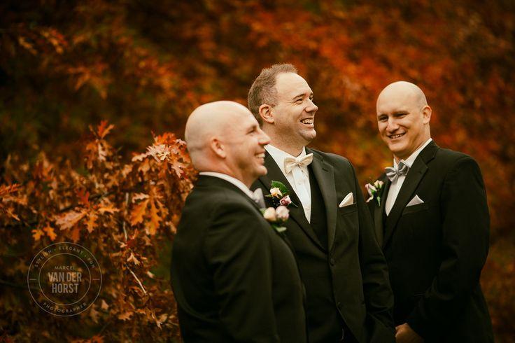 Autumn Colours Groom Portrait Lyrebird Falls Wedding