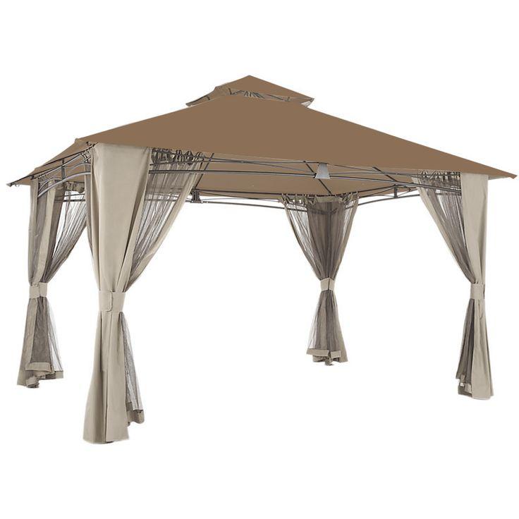 El Porto Gazebo Replacement Canopy - SUNBRELLA