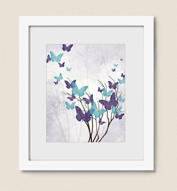 1000+ Ideas About Butterfly Wall Art On Pinterest
