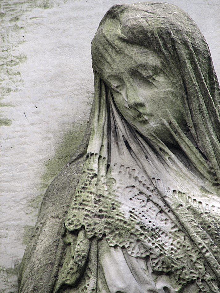 Stone lace - Warsaw cemetery, Poland Graveyard