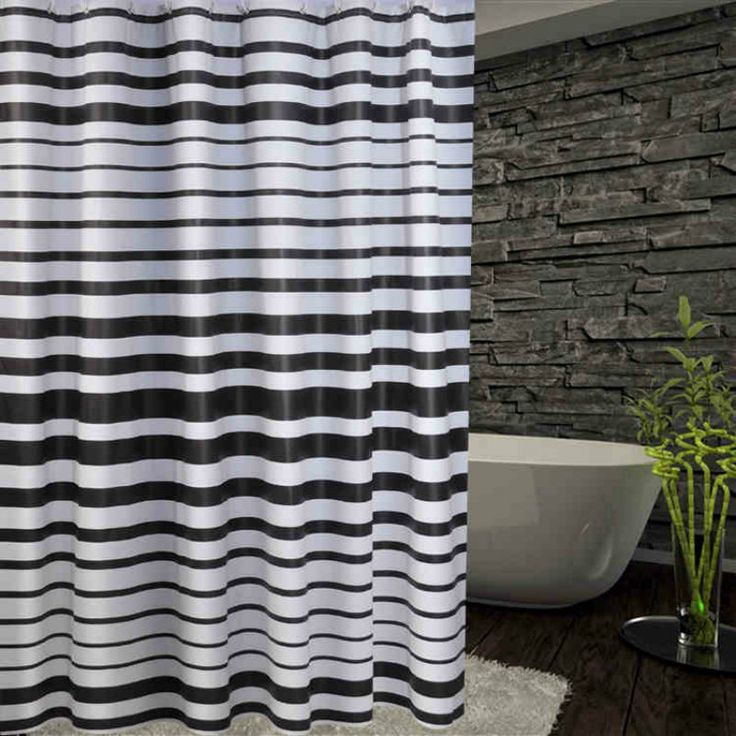 PEVA stripe  Yulian home decoration Yulian bathroom waterproof Mildew cloth Yulian a variety of sizes 180 * 180/200 * 200cm