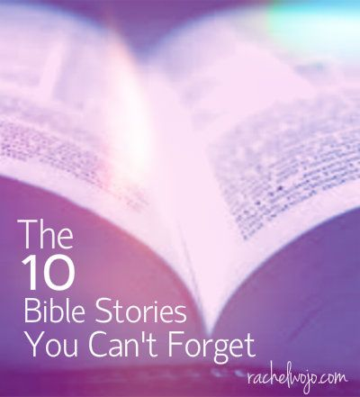 Whether we first heard a particularBible story in a beginner Sunday School class or read the Bible story for the first time as a young adul... Includes a GREAT children's Bible storybook giveaway!