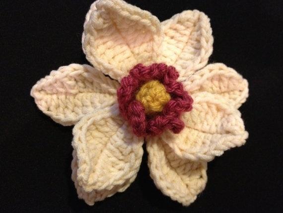 10 besten Crochet - Magnolia ! Bilder auf Pinterest | Magnolienblüte ...