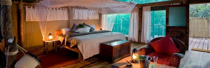 Mvuu Wilderness Lodge, Liwonde National Park, Malawi