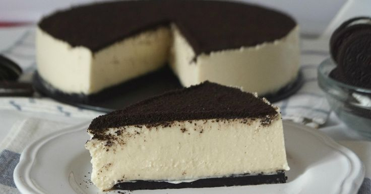 Tarta de queso Oreo SIN HORNO (Fácil y rápida)