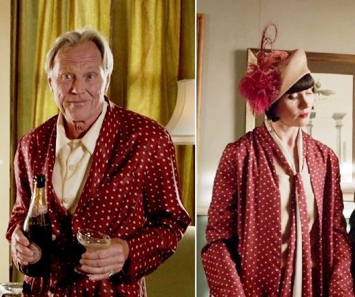 Phryne Fisher and her father.