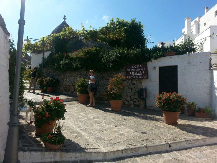 #Alberobello #Trulli #houses #Unesco #monument