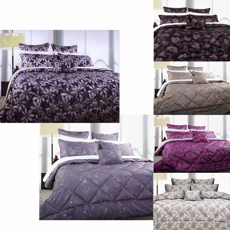 6 Pce Double Comforter Set by Accessorize