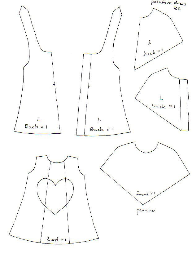 pinafore dress pattern