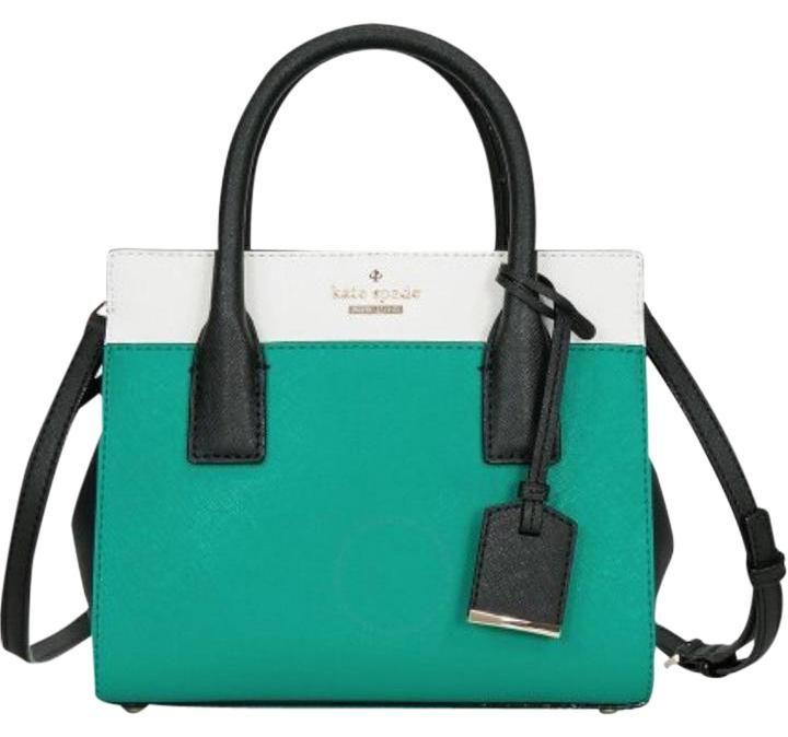 Kate Spade Mini Candance Cameron Street Colorblock Emerald Satchel. Save 43% on the Kate Spade Mini Candance Cameron Street Colorblock Emerald Satchel! This satchel is a top 10 member favorite on Tradesy. See how much you can save
