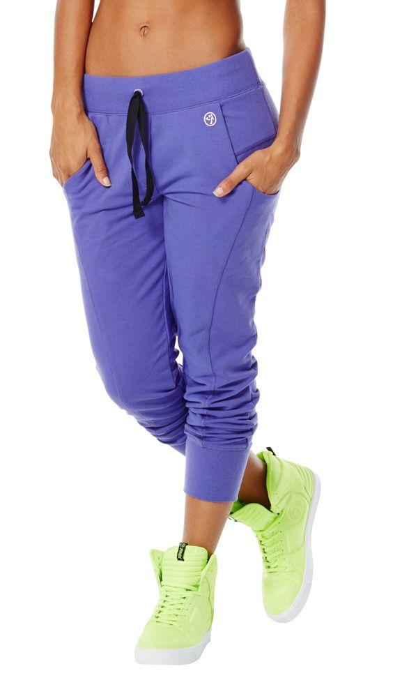 Sweat It N' Forget It Crop Pants | Zumba Fitness Shop
