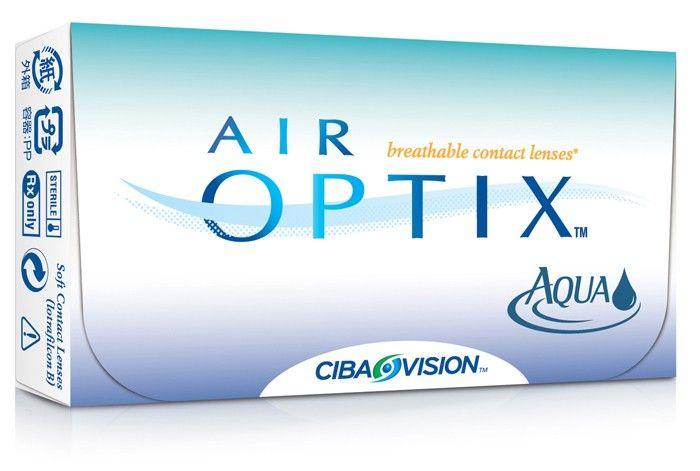 Air Optix Aqua Combinación avanzada de oxígeno y humectación. Air Optix Aqua es otro producto de Ciba Visión