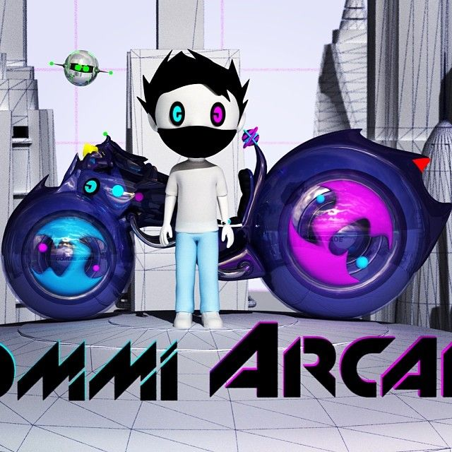 The story of GOMMI ARCADE® is the story of a young prodigy in a digital world who discovers a mysterious mask that enables him to see the re...