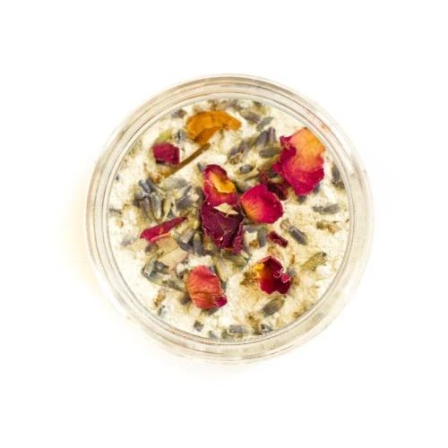 Love this FLOWER POWDER DRY FACE MASK! <3
