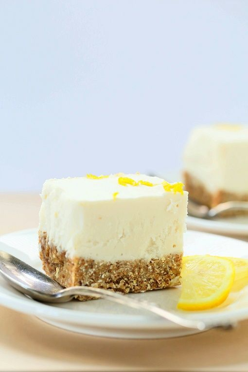 This No-Bake Lemon Cheesecake is a creamy, dream-worthy dessert that anyone will love, whether they're vegan or not.