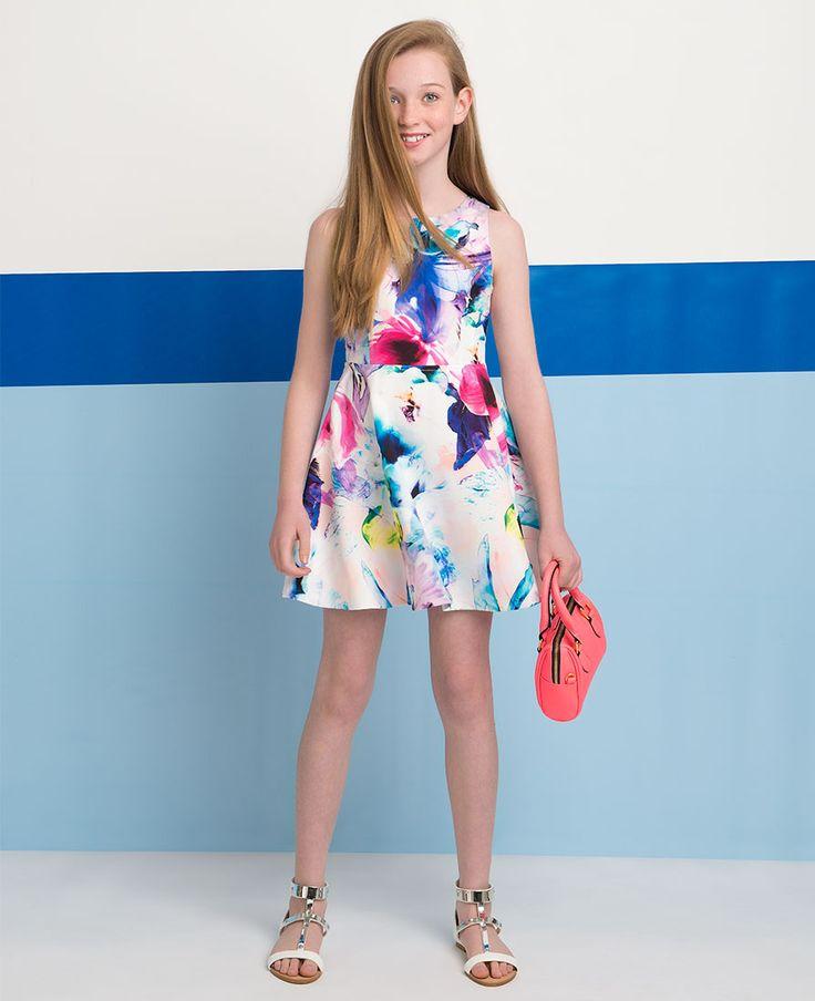 Girl's Bloom Dress - Bardot Junior