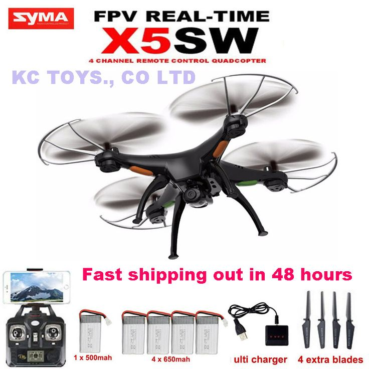 SYMA X5SW WiFi FPV RC helicopter drone quadcopter 2.4GHz 6Axis 4CH add 4pcs 650mah Battery as gift(VS X5C X5SC upgraded version) в категории Радиоуправляемые вертолёты на AliExpress.  Квадрокоптер dron NANO.1 карман Drone 4CH 6 оси гр..