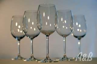 White Crystal Wine Glass