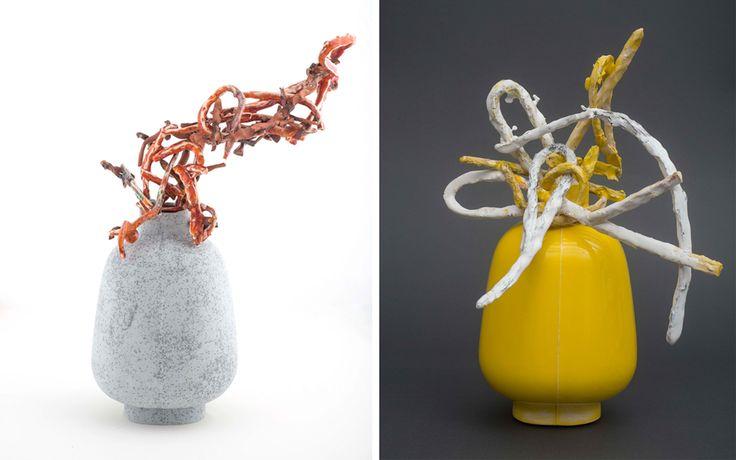Heidi Bjørgan - Grey og Yellow II   Norway Designs Nå