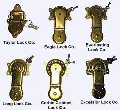 Stevens Antique Trunks - Antique Trunk Locks
