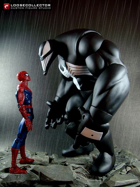 Loosecollector Custom Action Figures: Venom : Kieth-style