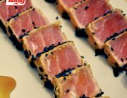 Receta de atún: prepara una deliciosa receta de atún con sencillos pasos para complacer a tu familia Medallón de Atún Tuny Sellado con Ajonjolí