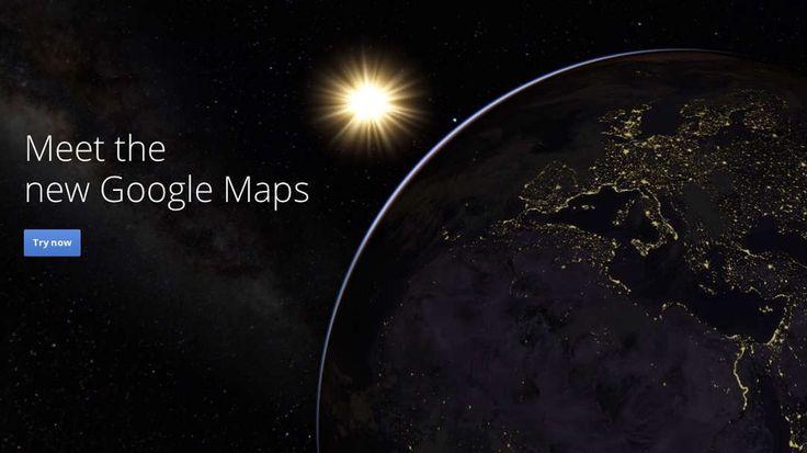 Mundo Seu Marketing: Novo Google Mapas disponíveis à todos