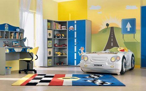 #excll #дизайнинтерьера #решения Важно, чтобы на ребенка ничего не давило сверху поэтому старайтесь не покупать двухъярусные кровати, навесные полки или балдахин. Необходимо постараться разделить зоны для учебы, для сна и для игр. Это можно сделать символически, просто верно расставив мебель.