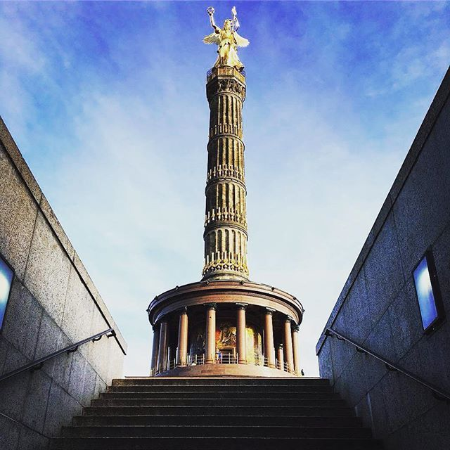 """The Victory Column (Siegessäule) or """"Golden Lizzie"""" is one of the most important landmark in the city of Berlin. Entrance: 3€ (2.5€ reduction) At our Yellow Tour - Stop 15."""