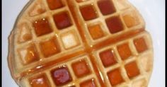 I LOVE waffles!  I have made waffles out of the THM Pancake recipe many times. They are delish, but they don't have that  fullness, thicknes...