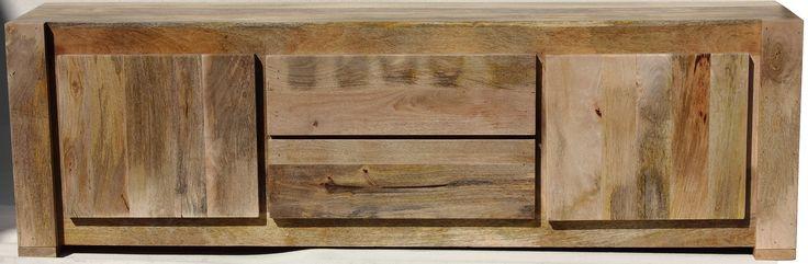 Komoda, szafka RTV z drewna mango