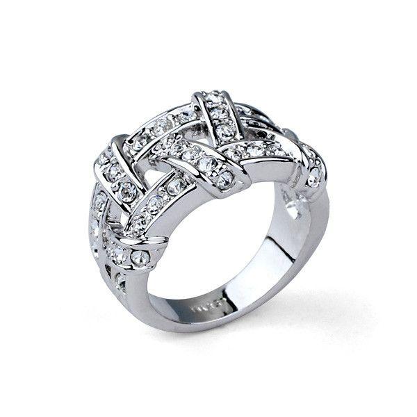 Свадебный стиль спиральные последние серебристый дизайн моды письмо обручальное кольцо-Ювелирные изделия из цинкового сплава-ID товара::60382166706-russian.alibaba.com