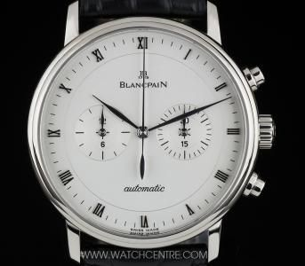 BLANCPAIN 18K W/G SILVER DIAL VILLERET CHRONO AUTOMATIC GENTS 4082-1542-55   http://www.watchcentre.com/product/blancpain-18k-w-g-silver-dial-villeret-chrono-automatic-gents-4082-1542-55%C2%A0/4636
