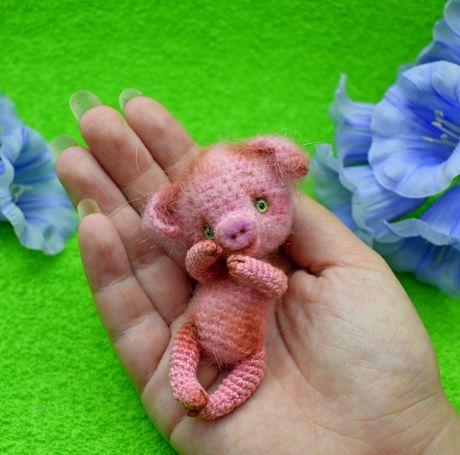 PDF Свинка. FREE amigurumi crochet pattern. Бесплатный маст…