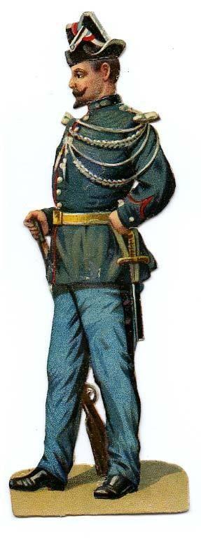 DECOUPI ANCIEN GENDARME - UNIFORME fr.picclick.com
