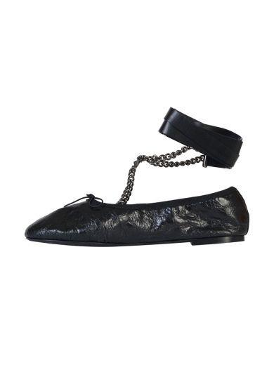 VALENTINO Valentino Garavani Ankle Strap Ballerinas. #valentino #shoes #valentino-garavani-ankle-strap-ballerinas