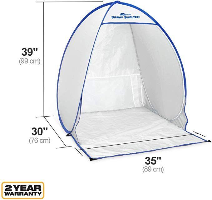 Amazon Com Homeright Small Spray Shelter C900051 Portable Paint
