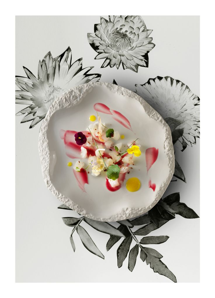 Sea bass with beetroot and mango. Qzine 3rd issue. Recipe on. http://www.qzine.gr/subscription/yearly/