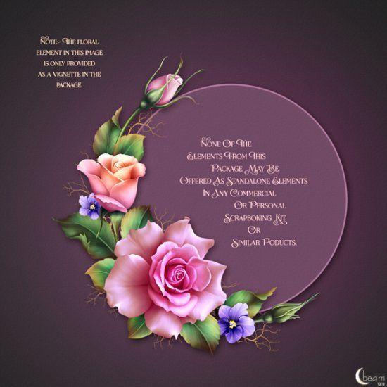 "Moonbeam's ""Spring Roses"" - Click Image to Close"