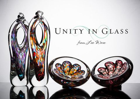 The Glass Alternative to a Sand Ceremony or Unity Candle | Unity In Glass