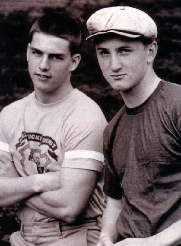 Tom Cruise, Sean Penn 1981
