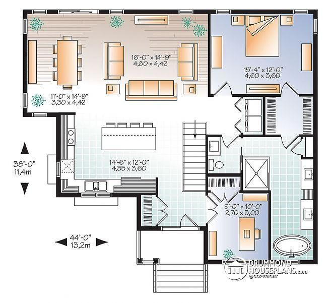 23 best House Plans images on Pinterest Garage plans House