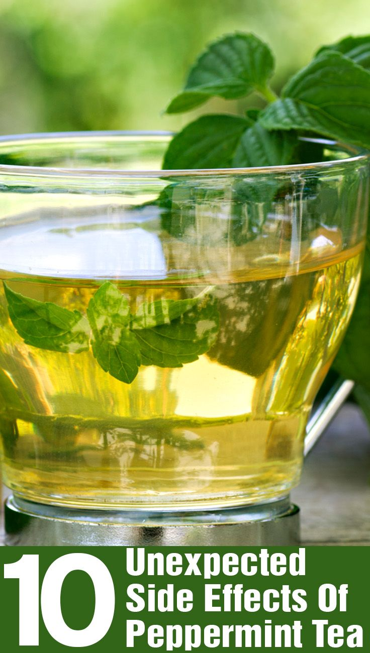 10 Unexpected Side Effects Of Peppermint Tea. I'm glad I read this. Guess I will miss having this flavor.