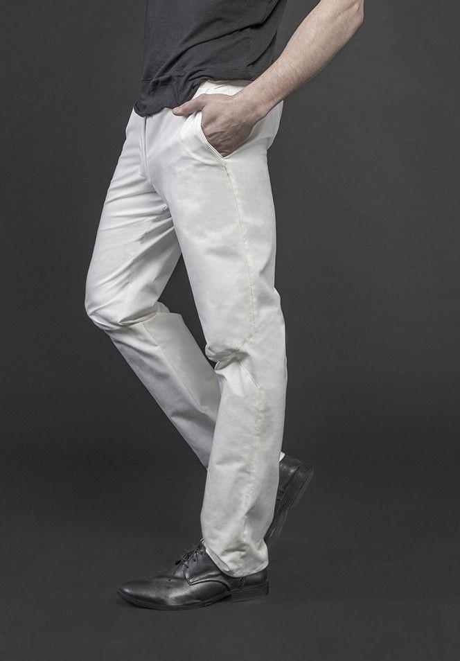 Men's white trousers #PANTHEIST #CAVEINcollection #menswear pantheist.co