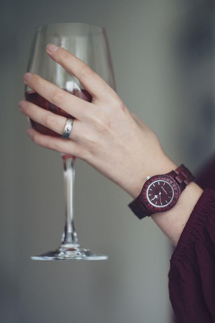 Have you ever heard of purpleheart wood? Well, we have, and we made a watch out of it.